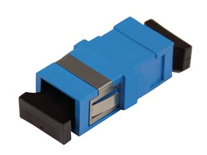 SC Simplex Single Mode Adapter, compatible with HellermannTyton Fibre Panels
