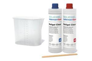 RELICON Religel Clear,transparentes und hitzebeständiges 2-Komponenten Silikongel