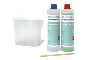 RELICON Religel Plus - Fast curing and heat resistant two-component silicone gel.