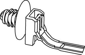 Bevestigingsbanden met lamelvoet kunnen worden toegepast voor diverse plaatdikten.
