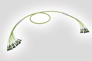 4 x 24 Fibre MTP to 12 x 8 Fibre MTP Fan Out