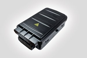 Fibre Facade Box (internal view shown with SC-PC adaptors)