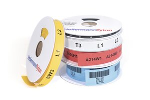 TCGT – five colours of printable tube to cover a wide range of diameters.
