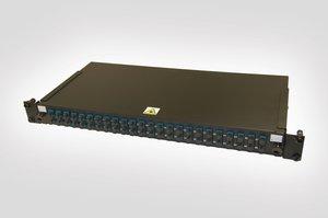 1U SC Duplex Single Mode Fibre Panel (available in both Single Mode and Multimode)