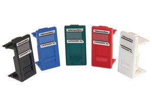 Category 5e Coloured Euro Modules
