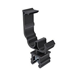 Deze clips uit de EdgeClip-serie zijn geschikt voor het trillingsarm geleiden van bekabeling en leidingwerk met grote diameters.