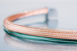 HEGEMIP-HY braided sleeving: EMI protection for hybrid automobiles.
