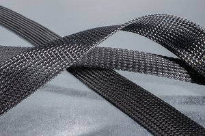 Helagaine HEGSAS braided sleeving.