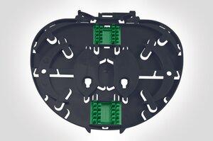 Single Element IR Splice Tray with 2 x 3A splice bridges.