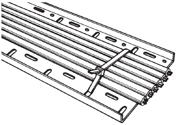 Cable Ties Inside Serrated For Cable Tray Ctf250 111