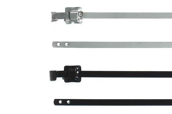 Kabelbinder mit Faltverschluss und Kunststoffbeschichtung MLT12SSC5 ...