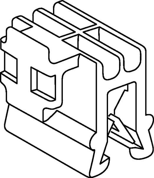 Connector Clips For Edges Ec45 151 00460