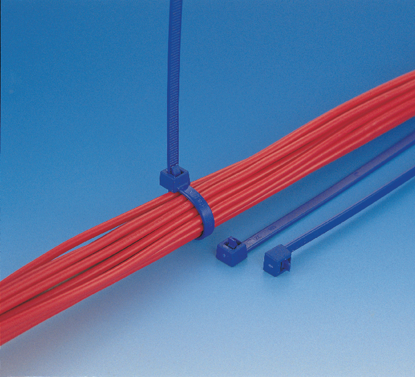 Cable ties for food industry, detectable, re-usable MCTRELK2M (111 ...