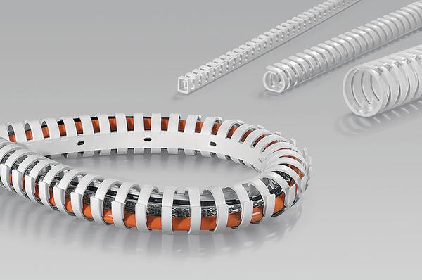 HelaDuct Flex kan worden toegepast bij hoeken van 90º en meer.