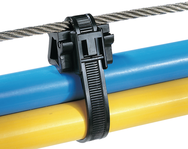 Cable Ties Outside Serrated For Parallel Routing Tas100lws