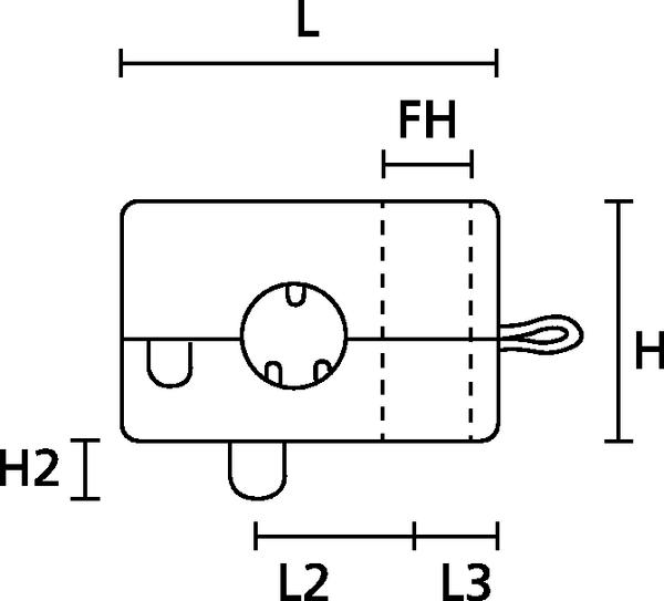 20mm x 1m K3T 81243-K3T Lochgummiband wei/ß