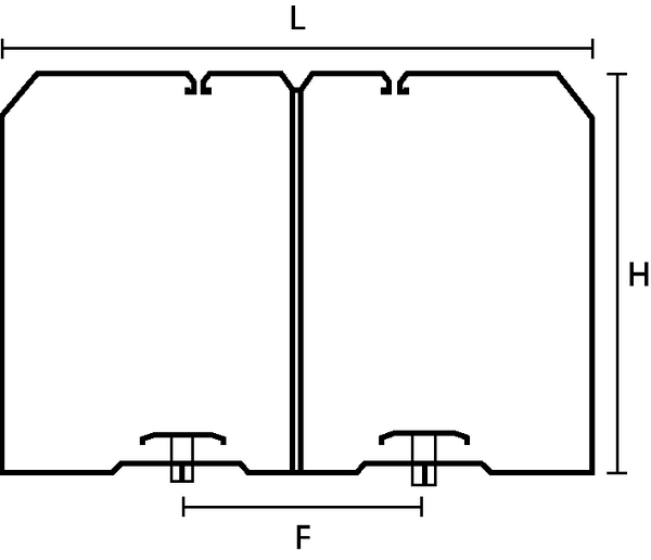For mounting prior to wiring HTWD-BWR-80X100 (181-50890 ...