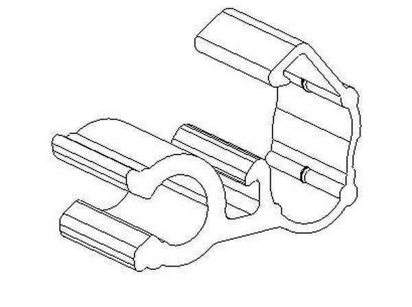 Bracket Cable Loom Cable Clip 151 14200