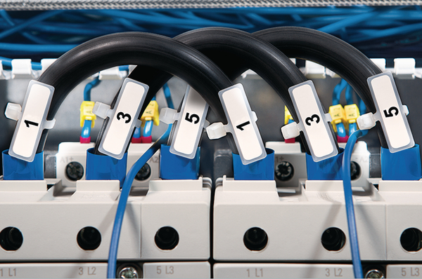Identification ties and plates for marking cable bundles IT18R (111-00115) | HellermannTyton