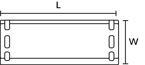 Stahln/ägel B/är/® mit Scheibe 3,5 x 70 mm//Pck a 125 St/ück