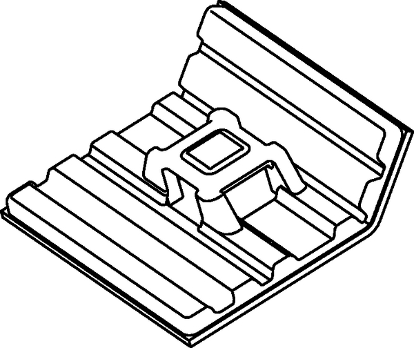 Cable Tie Mounts With High Performance Adhesive Fmb4apt I 151 01527