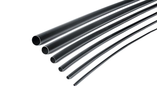 4,8 m. Othmro Gaine thermor/étractable 3:1 en poly/éthyl/ène noir pour isolation industrielle 2,4 mm