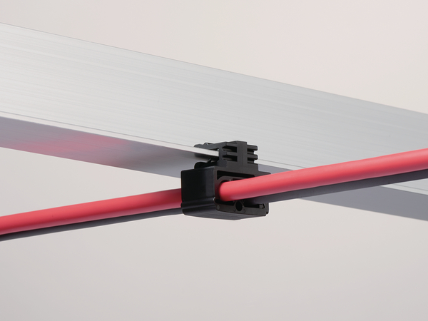 Fixing Elements for cables with Automatic Locking Feature GLEC1-2VJ-7  (151-02059) | HellermannTyton