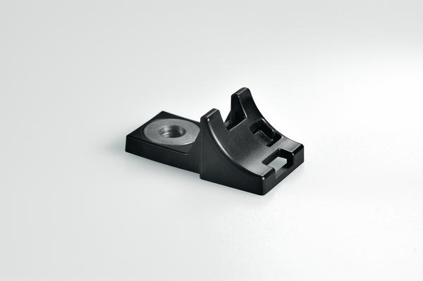 10x h8p Collier pour fixation des conduites W 10 Mm Polyamide Noir 211-60007