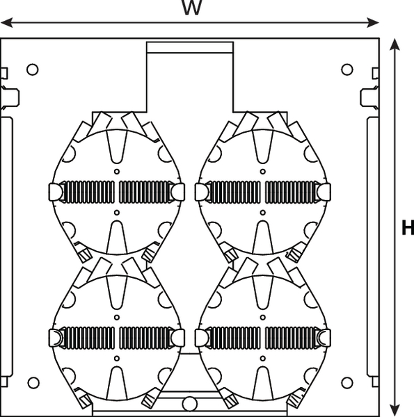 BFP - Building Flexibility Point Wall Box BFP1019C (857-00009