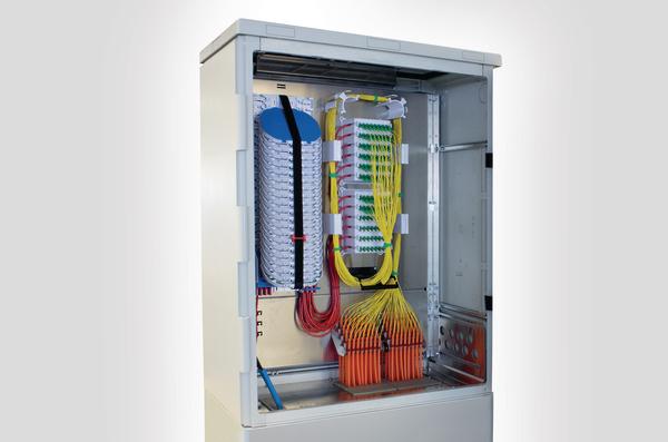 Connectorised PON Street Cabinet SCPCGYA2CAB0002-MXE02P12B