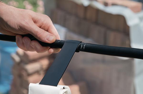 HelaTape Power 650 bildet eine sehr flexible, alterungsbeständige und wasserdichte Verbindung.