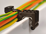 1-Piece Cable ties with EdgeClip
