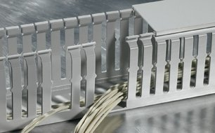 The halogen-free wiring duct HTWD-HF