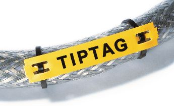 Industrial identification tags for cable bundle, TIPTAG